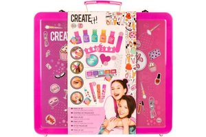 Create It! Make-up set in luxe koffertje (14-delig)