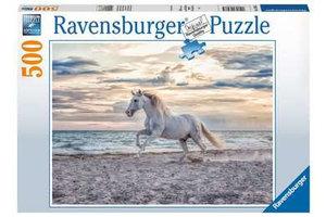 Ravensburger Puzzel (500stuks) - Paard op het strand