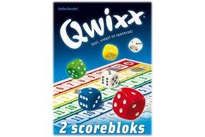 White goblin Qwixx Bloks (extra scorebloks)