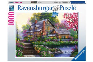 Ravensburger Puzzel (1000stuks) - Romantische cottage