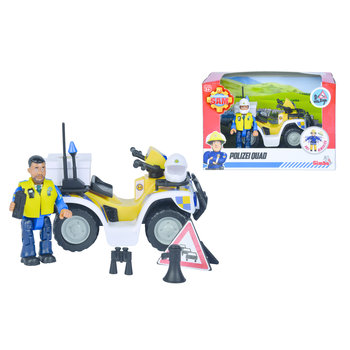 Brandweerman Sam - Politie Quad met figuur