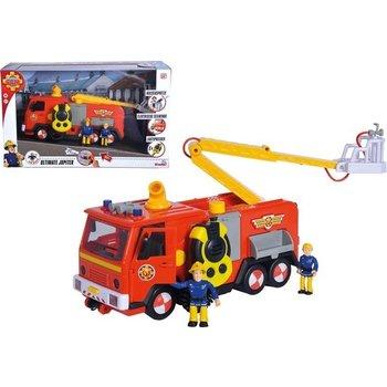 Brandweerman Sam - Mega Deluxe Jupiter met licht/geluid + 2 figuren