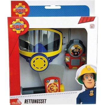 Brandweerman Sam - Zuurstofmasker, bijl en walkie talkie