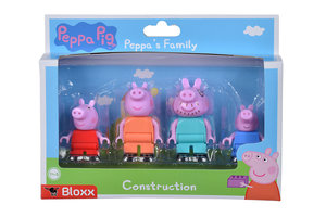 BIG BIG Bloxx Peppa Pig - Peppa´s Family