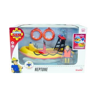Brandweerman Sam - Sam Neptunes boot met figuur Penny