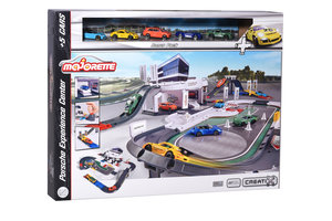 Majorette Porsche Experience Center met 5 voertuigen