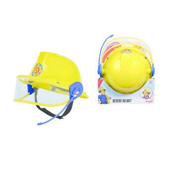 Brandweerman Sam - Helm met micro + vest met riem