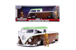 Jada Toys Marvel Guardians of the Galaxy - 1963 VW Bus Pickup