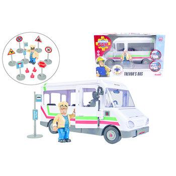 Brandweerman Sam - Trevors Bus met figuur