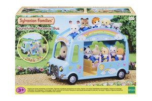 Sylvanian Families Sylvanian Families - Regenboog babybus