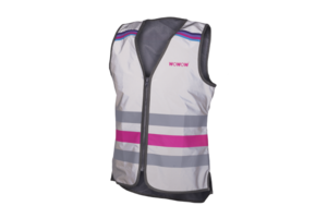 wowow Lucy Jacket Full Reflective Pink - L