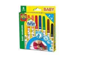SES Creative SES Creative My First - Baby markers 8 kleuren
