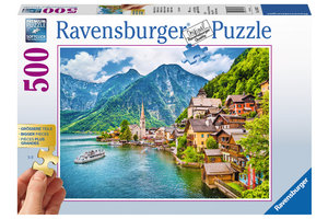 Ravensburger Puzzel (500stuks) - Hallstatt in Oostenrijk