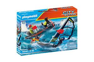 Playmobil PM City Action - Redding op zee: Redding met poolzeiler 70141