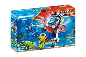 Playmobil PM City Action - Redding op zee: Omgevingsmissie met duikboot 70142