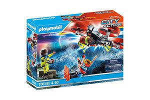 Playmobil PM City Action - Redding op zee: Reddingsduiker met drone 70143