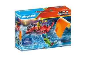 Playmobil PM City Action - Redding op zee: Kitesurfersredding 70144