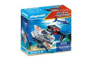Playmobil PM City Action - Redding op zee: Duikscooter 70145