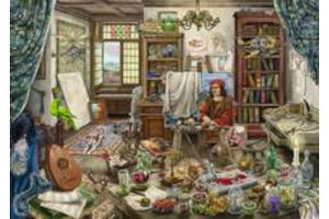 Ravensburger Puzzel (759stuks) - Escape - Het Kunstatelier