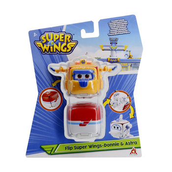 Super Wings - Flip Surprise Donnie & Astra (2-pack)