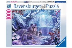 Ravensburger Puzzel (1000stuks) - Wolven in de winter