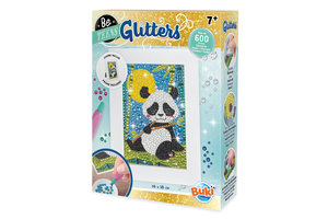 Buki Glitters - Panda