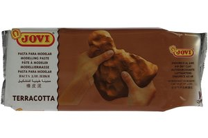 Jovi Boetseerklei (hardwordende) 500gr - terracotta