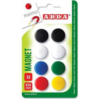 ARDA ARDA Magneten 20mm - 8stuks
