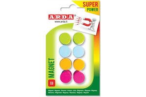 ARDA ARDA Magneten Superpower 15mm - 8stuks