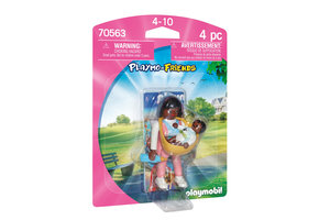 Playmobil PM Playmo-Friends - Mama met draagzak 70563