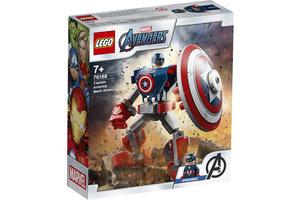 LEGO LEGO Marvel Super Heroes Captain America mechapantser -76168