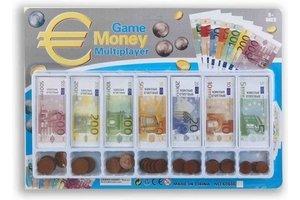 Speelgeld Euro (briefjes & munten) - 78-delig