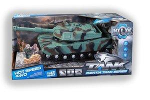 Tank met licht/geluid - 25cm