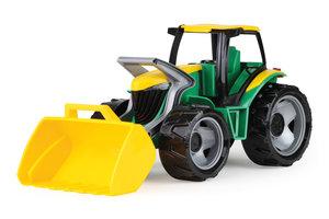 Lena Giga Trucks Tractor met voorlader (groen/geel) - 62cm
