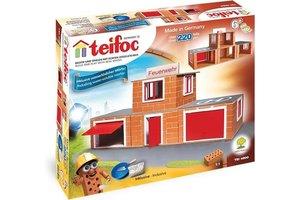 Teifoc Teifoc Bouwdoos - Brandweerkazerne 220 stuks