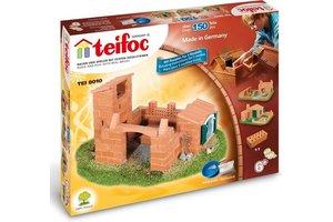 Teifoc Teifoc Bouwdoos - Burcht/Huis 150 stuks