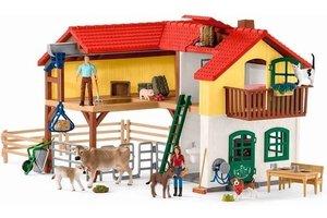 Schleich Schleich Farm World - Boerderij met stal en dieren