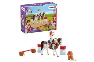 Schleich Schleich Horse Club - Hannah's western rijset