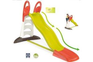 Smoby Glijbaan XL Maxi met waterfunctie (dubbele golven)