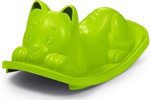 Smoby Smoby Schommelwip - Kat (groen)