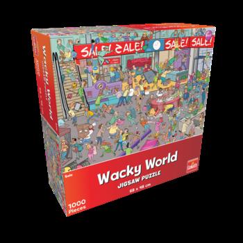 Goliath Puzzel (1000stuks) - Wacky World - Sale