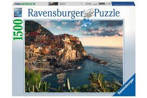 Ravensburger Puzzel (1500stuks) - Uitzicht op Cinque Terre