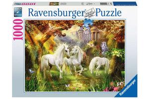 Ravensburger Puzzel (1000stuks) - Eenhoorns in de herfst