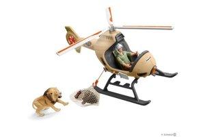 Schleich Schleich Wild Life - Reddingshelikopter voor dieren