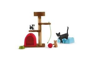 Schleich Schleich Farm World - Speeltijd voor schattige katten