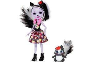 Enchantimals Enchantimals - Sage Stinkdier met haar dierenvriendje Caper