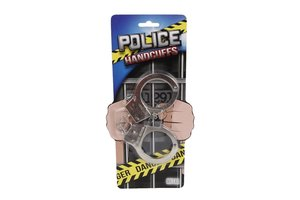 Handboeien metaal 'Police'