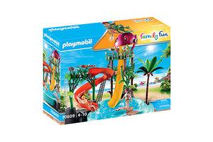 Playmobil PM Family Fun - Waterpark met glijbanen 70609