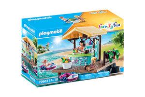Playmobil PM Family Fun - Waterfietsen verhuur met sapbar 70612