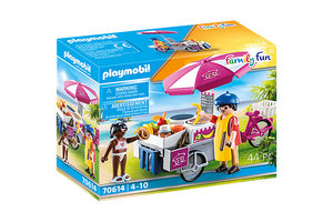 Playmobil PM Family Fun - Mobiele crêpesverkoop 70614